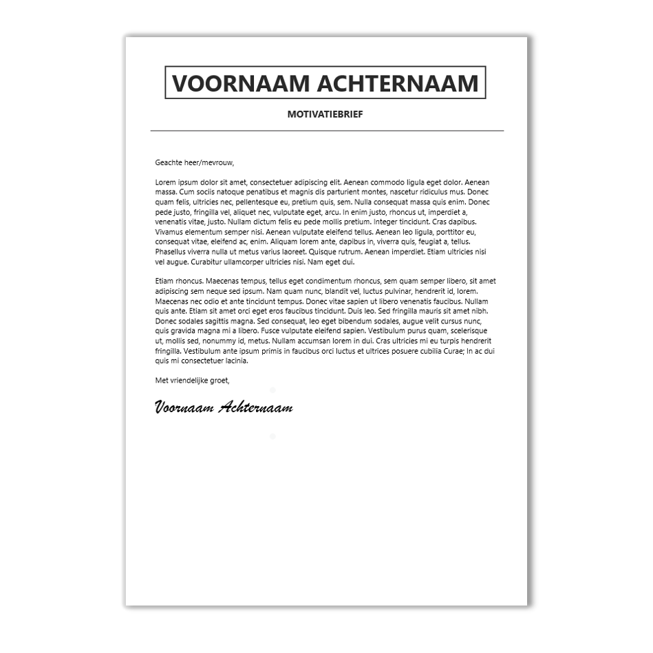 download cv voorbeeld 21