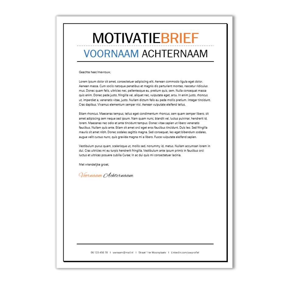 creatieve sollicitatiebrief voorbeeld Creatief CV opmaak template Word | CV voorbeelden.nl creatieve sollicitatiebrief voorbeeld
