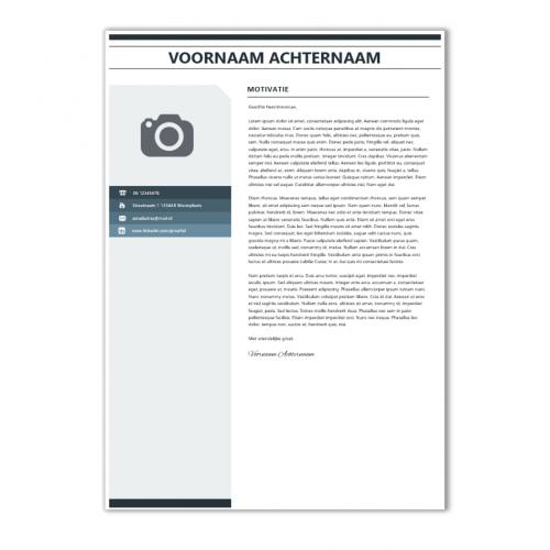 Modern CV sjabloon 3